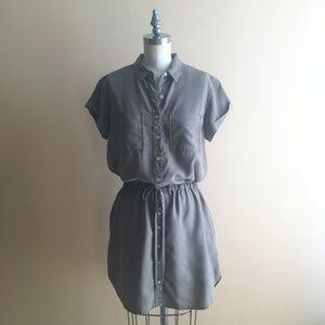 Thread+Supply Olive Safari Dress